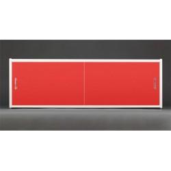 Экран под ванну Francesca Premium 150/170/180 красный