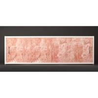 Экран под ванну раздвижной Francesca Premium 150/170/180 темно-розовый мрамор
