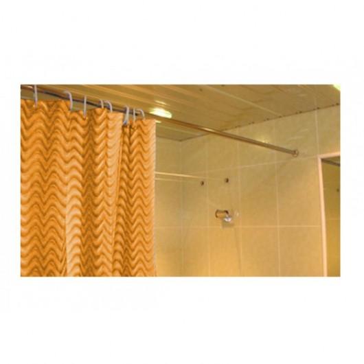 Карниз для ванны прямой 140 см универсальный