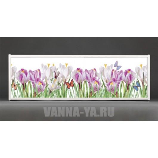 Фотоэкран под ванну Francesca Premium Нежные краски 150/170/180 см (Антискользящее Основание)