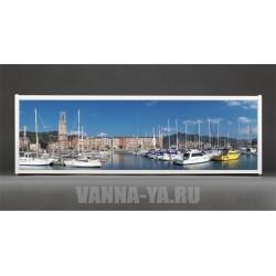 Фотоэкран под ванну Francesca Premium Яхты в порту 150/170/180 см (Антискользящее Основание)