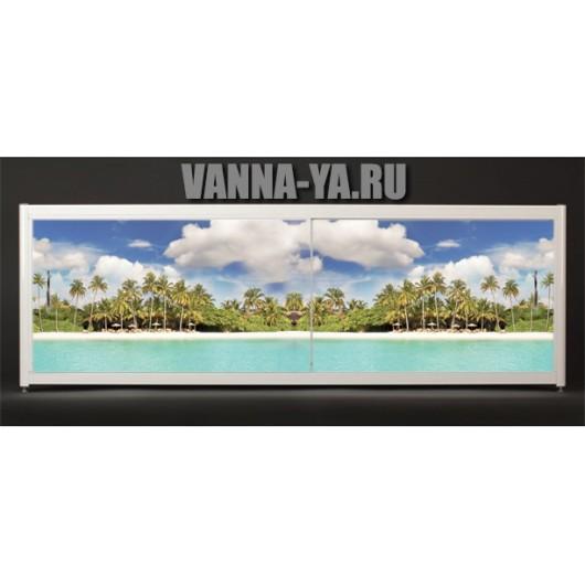 Экран под ванну Francesca Elite Пляж 140-180 см (Антискользящее Основание)
