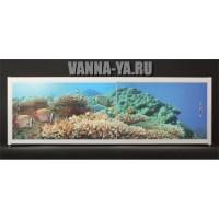 Экран под ванну Francesca Elite Подводный мир 140-180 см (Антискользящее Основание)