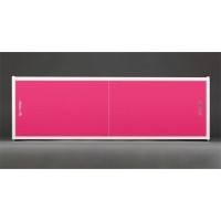 Экран под ванну Francesca Premium 150/170/180 розовый