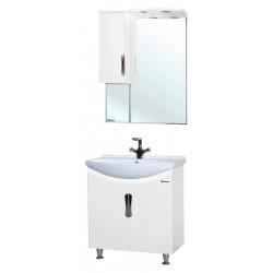 Комплект мебели Bellezza Лагуна 65 прямая белая