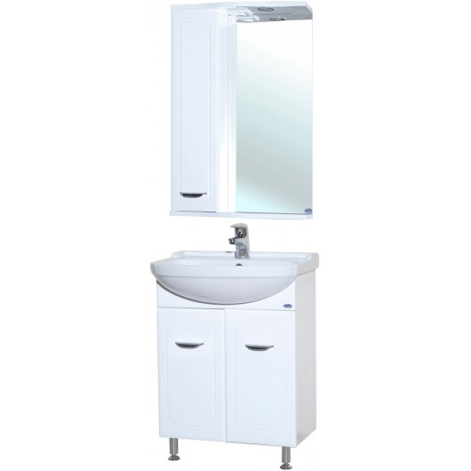 Комплект мебели для ванной комнаты Bellezza Классик 50 прямая