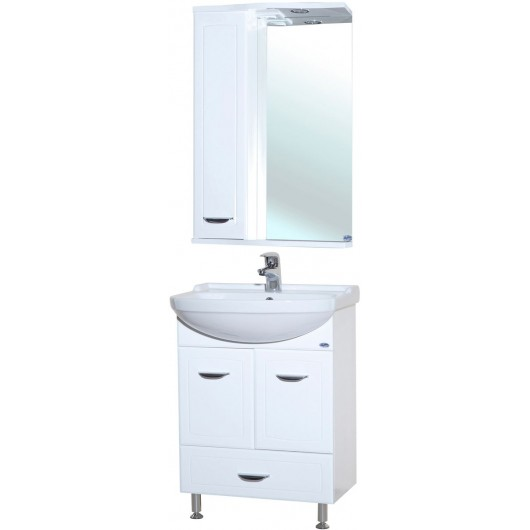 Комплект мебели для ванной комнаты Bellezza Классик 55 с нижн. ящ.