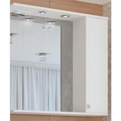 Шкаф-зеркало Francesca Венеция 80