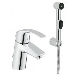 Смеситель Grohe Eurosmart 23124002 для раковины с гигиеническим душем