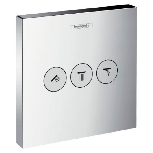 Переключатель потоков Hansgrohe ShowerSelect Trio/Quattro 15764000 для душа