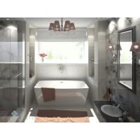 Отдельностоящая Акриловая ванна Favenitia Ingrid 180