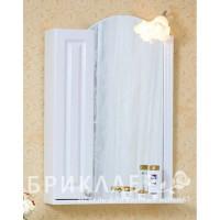 Зеркало-шкаф Бриклаер Анна 60 L, белый