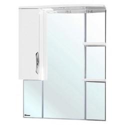 Зеркало-шкаф Bellezza Лагуна 75 L белый