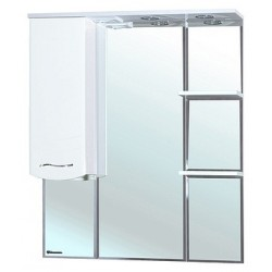 Зеркало-шкаф Bellezza Мари 85 L белый