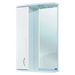 Зеркало-шкаф Bellezza Астра 50 L белый