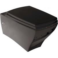 Унитаз подвесной ArtCeram Jazz JZV001 черный